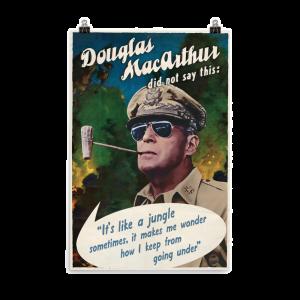 MacArthur Poster PNG